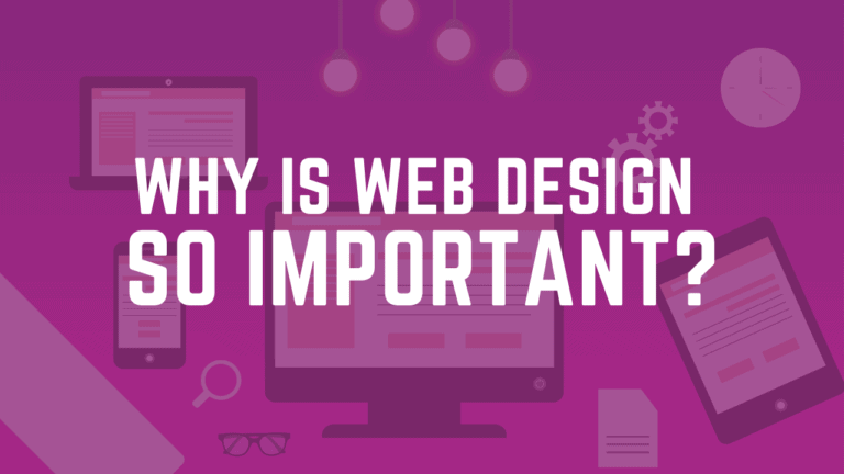 is website design important?